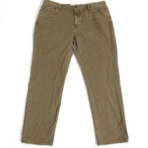 Lucky Brand Vintage Straight Leg Khaki Jeans Mens